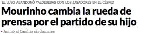 """Animó al Canillas sin ducharse"", Marca."